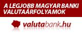 A legkedvezőbb magyar valutaárfolyamok a valutabank.hu-n